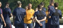 TRIGORIA - Lavoro di scarico per chi ha giocato contro il Napoli, il resto della squadra con la Primavera