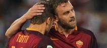 La Roma celebra Totti e De Rossi per le 1001 presenze