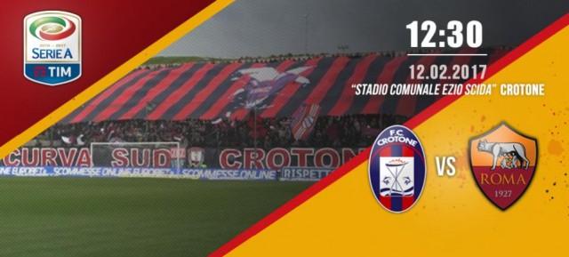 Crotone vs Roma 0 a 2 - La Roma vince con Dzeko e Nainggolan e si riprende il secondo posto(FOTO e VIDEO)