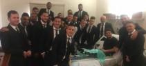 Tutta la squadra a Villa Stuart da Florenzi prima della partita (Foto)