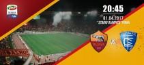 AS Roma vs Empoli 2 a 0 | Con una doppietta di Dzeko, la Roma vince per 2 a zero contro l'Empoli (Foto e Video)