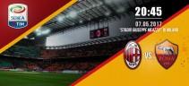 LIVE - Milan vs AS Roma 1 a 4   Poker della Roma a San Siro, doppietta di Dzeko e reti di El Shaarawy e De Rossi  (Foto e Video)