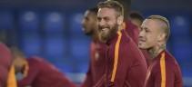 Allenamenti, Roma al lavoro in vista del Chievo. Individuale per Mario Rui e Nainggolan