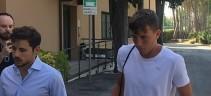 Luca Pellegrini a Villa Stuart per cominciare la riabilitazione (FOTO)