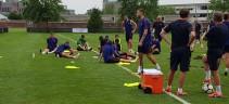 Allenamenti, Roma al lavoro dopo il match con il Siviglia