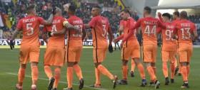 La Roma vince ad Udine una gara da 6 punti