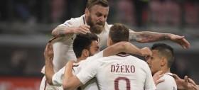 La Roma travolge il Milan e si riprende il secondo posto