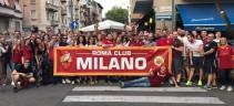 Roma Club Milano, la passione si sente
