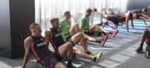 Ritiro Roma Usa, primo allenamento a Boston. Squadra divisa in due gruppi (video)