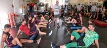 Ritiro Roma Usa, terzo giorno a Boston - Lavoro tattico in campo, Karsdorp in gruppo e individuale per Coric