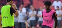 Allenamento Roma. Giallorossi  in campo in vista del match col Torino, individuale per Bianda e Nzonzi (Video)