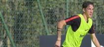Allunghi al termine del match per Zaniolo e Luca Pellegrini