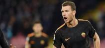 La Roma ricorda le due doppiette di Dzeko al San Paolo (video)