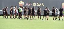 Allenamento Roma. Giallorossi in campo alle 15:15, individuale per De Rossi e Kolarov