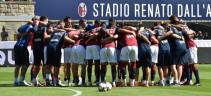 Allenamento Bologna, lavoro atletico ed esercitazioni tecniche in vista della Roma