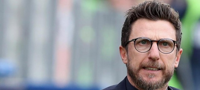 Frosinone-Roma, i convocati di Di Francesco. Out Under, in Perotti