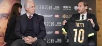 Il professor Accorsi e il Campione: «Abbiamo fatto emozionare Totti»