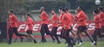 Allenamento Roma. Squadra di nuovo a Trigoria in vista del Genoa
