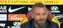 Conferenza stampa De Rossi: