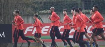 Allenamento Roma, squadra divisa tra torello e lavoro di gruppo. Out Gonalons e Riccardi
