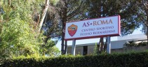 Allenamento Roma, rifinitura in vista del Borussia. Assiste Petrachi, Santon a parte causa febbre