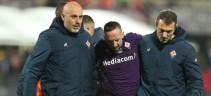 Lesione al legamento della caviglia per Ribery. A rischio il match contro la Roma