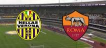 Verona vs As Roma 1-3 - Tris dei giallorossi che mantengono il quarto posto