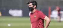Allenamento Roma, aumenta l'intensità degli allenamenti