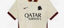 La Roma presenta la maglia da trasferta per la stagione 2020-21. Esordirà stasera contro il Toro