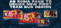 Il nuovo pullman della Roma sarà scelto dai tifosi