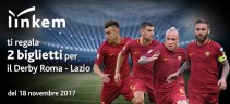 Linkem, Partner of the Future dell'AS Roma, ti regala il derby Roma-Lazio del 18 novembre!