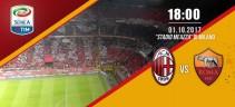 Live Fc Milan vs As Roma - 0-2. Vittoria giallorossa grazie a Dzeko e Florenzi