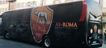 La Roma è atterrata a Torino (video)