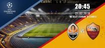 Shakhtar Donetsk vs Roma 2 a 1 | Termina il match con lo Shakhtar che si aggiudica il primo round della doppia sfida (foto)