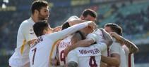 La Roma arriva a Crotone (video)