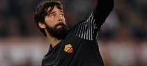 A fine stagione Alisson rinnoverà con la Roma, ma senza clausola rescissoria