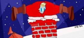 Babbo Natale è della Lazio