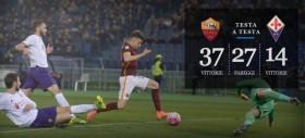 Roma-Fiorentina - precedenti, statistiche e curiosità