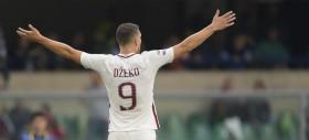 Dzeko, tra i cinque attaccanti con il derby nel dna