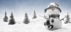 Dzeko è un pupazzo di neve. Cadono gli Spelacchio sulle macchine. La Uefa respinge la Var
