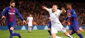 Roma sconfitta più da se stessa che dal Barca