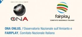 Sport e Scuola, Ambiente e Sicurezza: Via l'Amianto! Giovedì 30 maggio Conferenza nel Salone d'Onore del Coni al Foro Italico