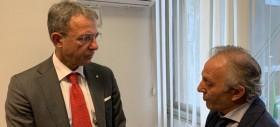 Il Ministro dell'Ambiente incontra i membri della delegazione ONA Sicilia