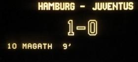 Finale 1983 - Amburgo vs Juventus 1 a 0
