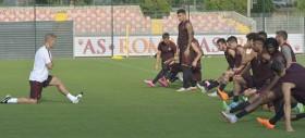 Trigoria, programma di scarico per chi ha giocato ieri. Personalizzato per Totti, Strootman, Gervinho e Salah