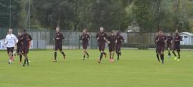 Trigoria - Squadra in campo per l'allenamento pomeridiano. Totti e Torosids in gruppo
