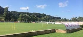 Trigoria, allenamento della mattina: Totti e Torosidis ancora in gruppo. Personalizzato per Strootman