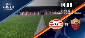 Youth League | PSV Eindhoven vs Roma 2-2, 1-3 dopo i rigori - La Roma si qualifica ai quarti di finale di Youth League