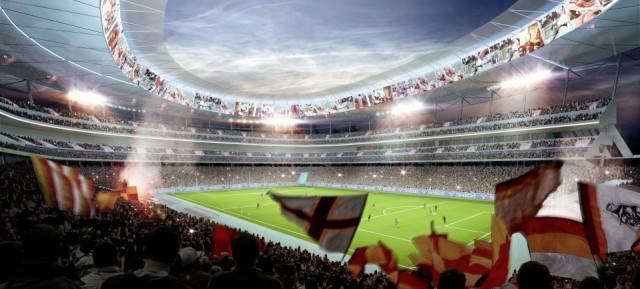 Vi piace il Progetto del nuovo Stadio della Roma?